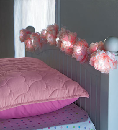 Hearthsong String Lights : Peony String Lights! Michelle Masters Topiary Art