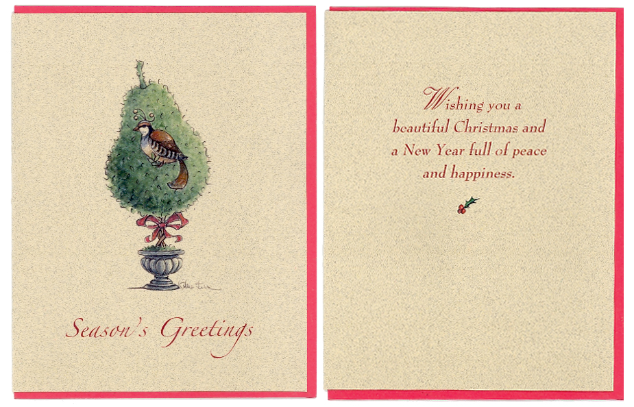 Partridge Card both