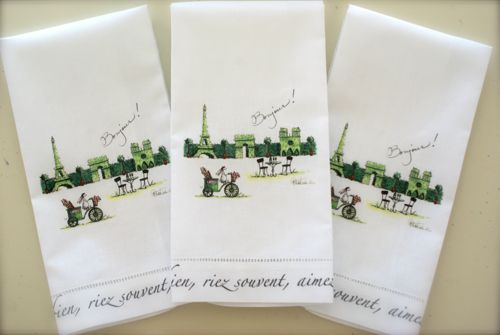 Paris Towels