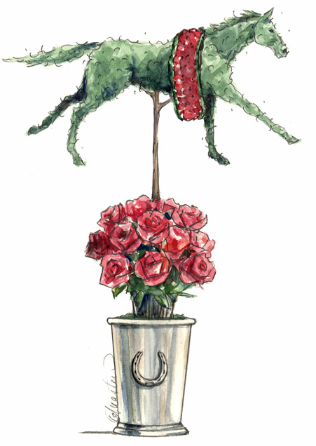 Kentucky-Derby-Topiary
