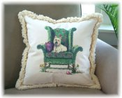 16 Inch Limited Edition Pillow w/Fringe