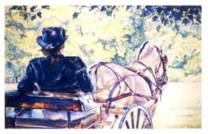 A Rest in the Shade- sold